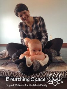 Infant Massage Class at Breathing Space